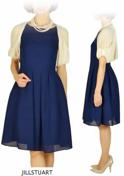 ジル・スチュアートのドレス 披露宴ファッション