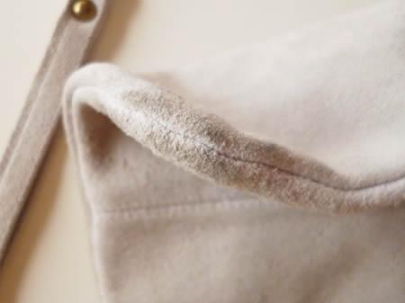 スウェードバッグの洗濯