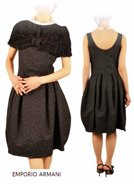 アルマーニのドレス 披露宴ファッション